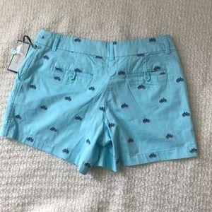 British Khaki Shorts - British Khaki  Aqua women's shorts